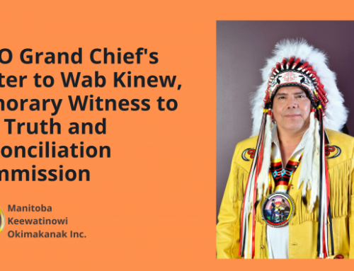 MKO Grand Chief's Letter to Wab Kinew