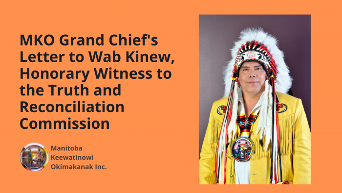 Letter to Wab Kinew