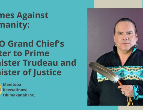 Crimes Against Humanity: MKO Grand Chief's Letter to Prime Minister Trudeau and Minister of Justice