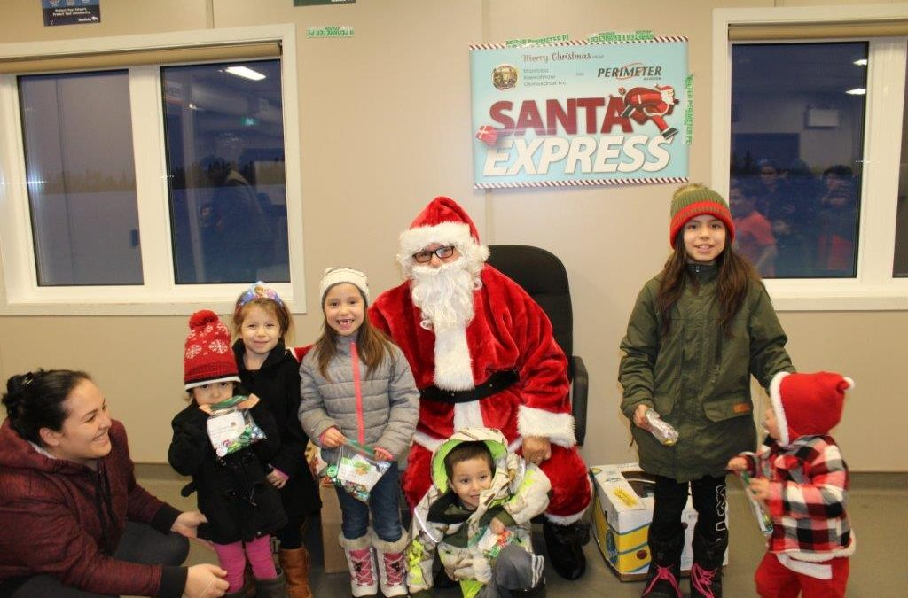 MKO Launches Santa Express Fundraising Campaign