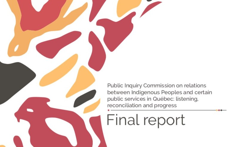 New Report from Quebec Shows Continued Need for Meaningful Action to Improve Safety for Indigenous Peoples in Canada