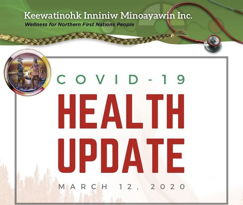 COVID-19 Health Update for March 12, 2020