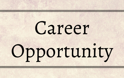 Career Opportunity: ISETS Program Coordinator