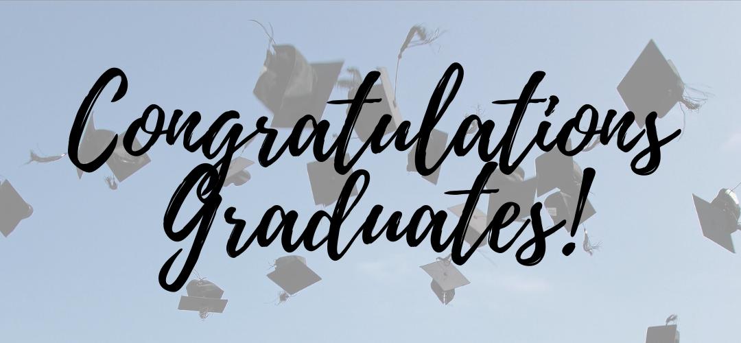 Congratulations to all graduates in MKO territory