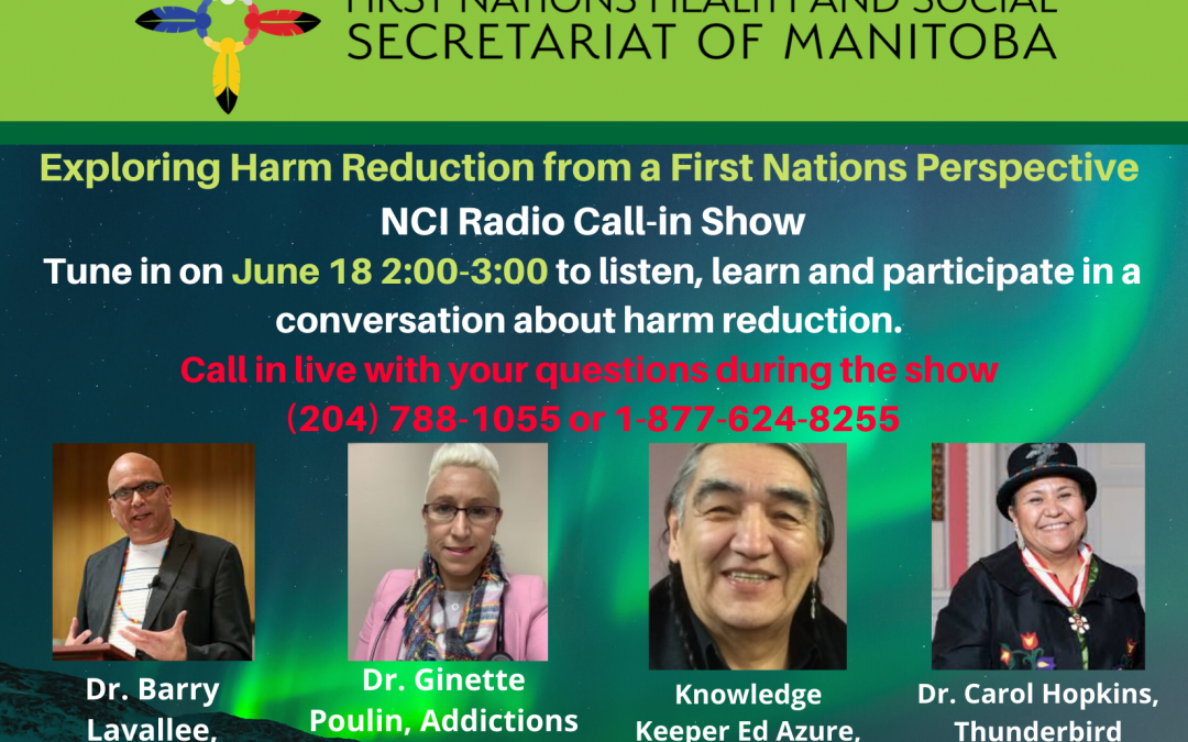 NCI Radio Call-In Show: Exploring Harm Reduction from a First Nations Perspective