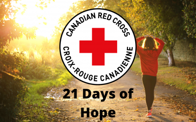 Canadian Red Cross: 21 Days of Hope guide for youth in self-isolation