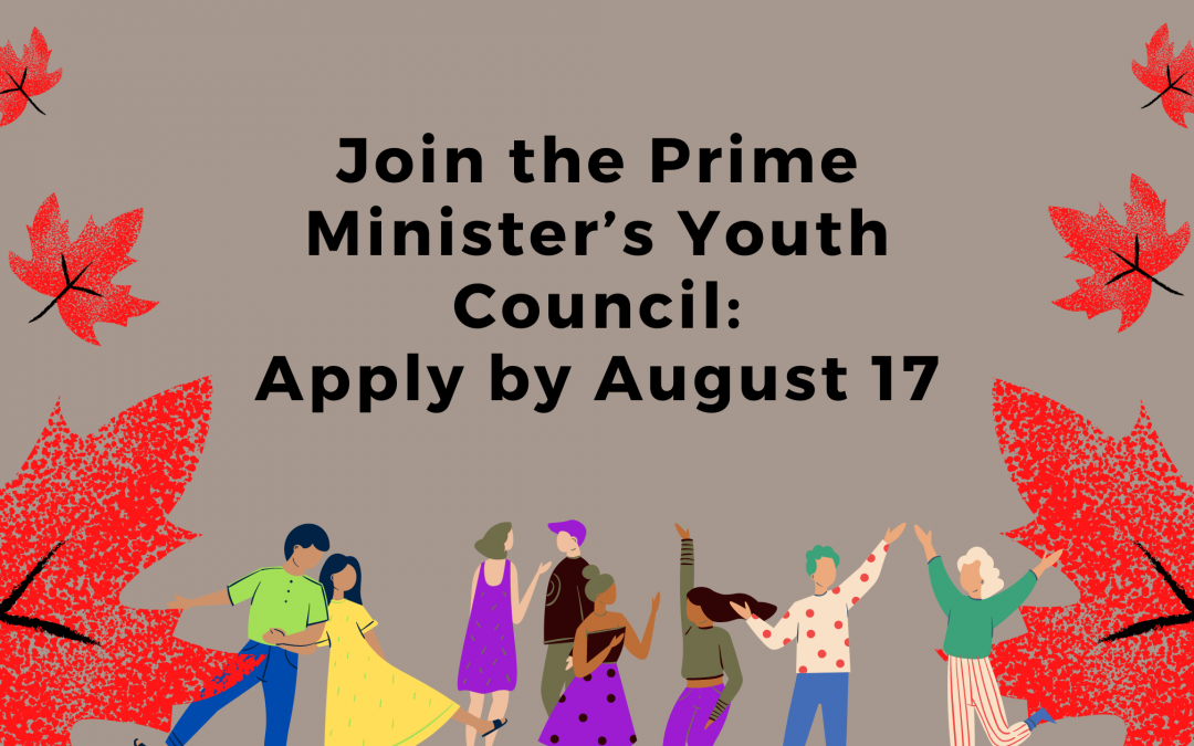 Join the Prime Minister's Youth Council: Apply by August 17