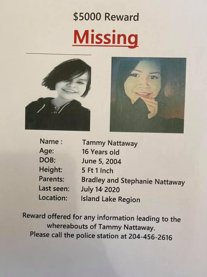 Missing Poster for Tammy Nattaway