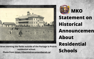 MKO Statement on Historical Announcement about Residential Schools