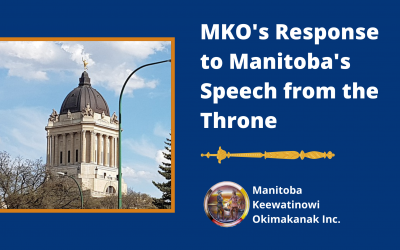 MKO's Response to Manitoba's Speech from the Throne