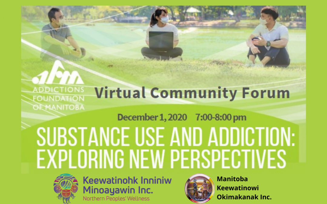 Community Forum on December 1: Exploring News Perspectives in Substance Use and Addiction