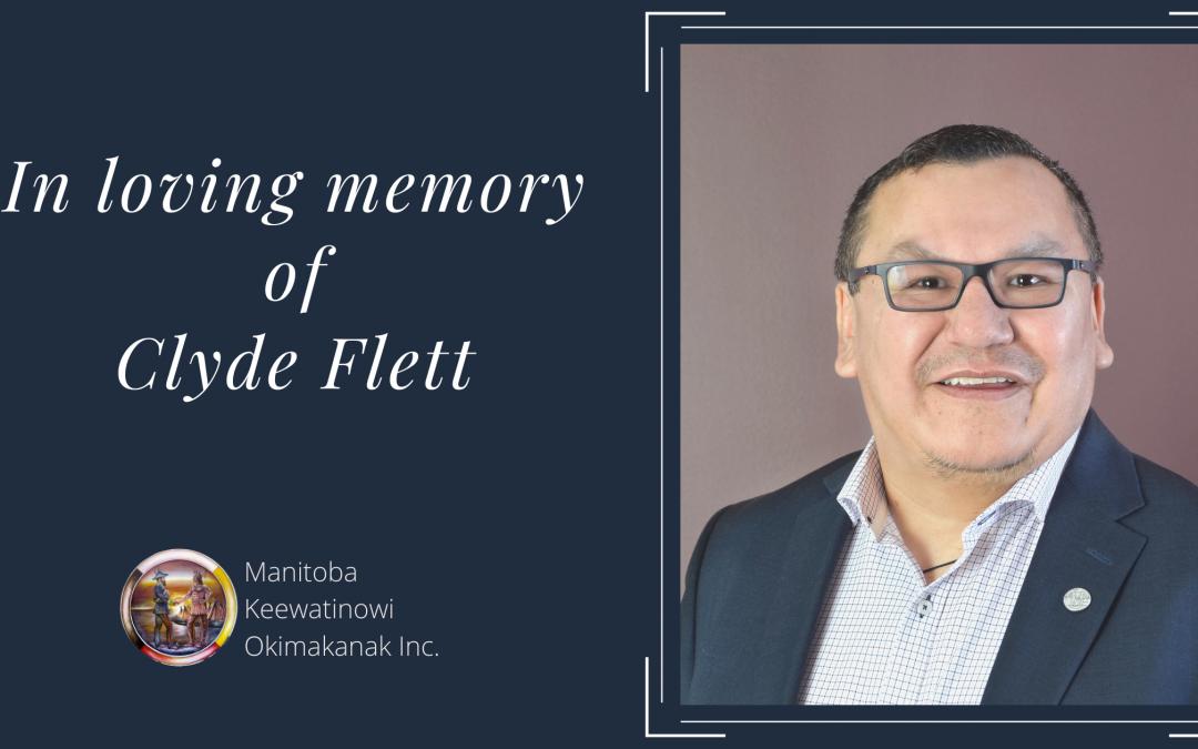 In loving memory of Clyde Flett