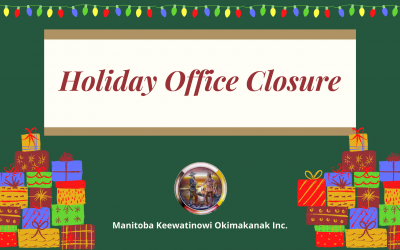 Holiday Office Closure