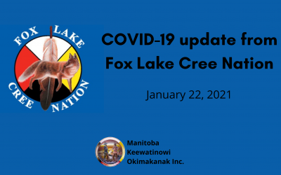 COVID-19 update from Fox Lake Cree Nation