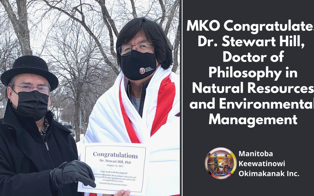 MKO Congratulates Dr. Stewart Hill, Doctor of Philosophy in Natural Resources and Environmental Management