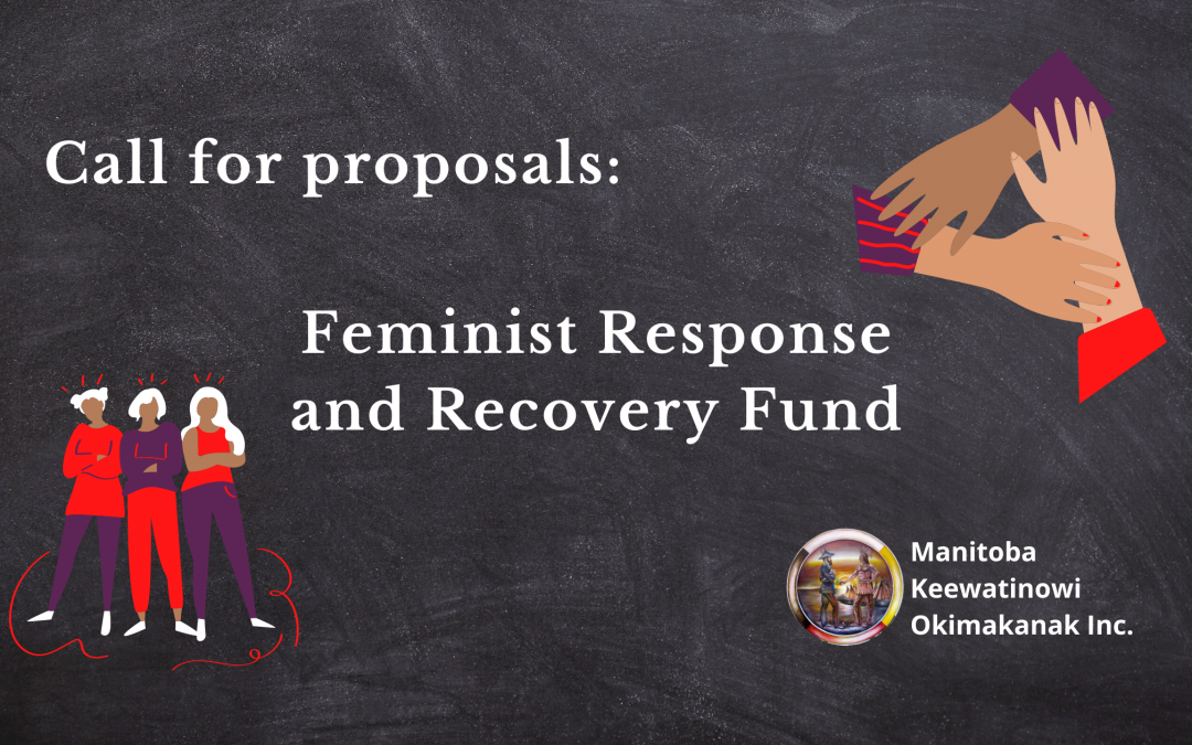 Call for proposals: Feminist Response and Recovery Fund