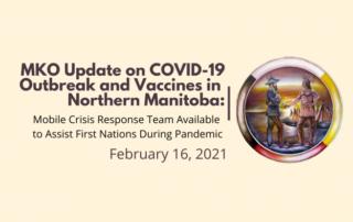 MKO update on COVID-19 February 16, 2021