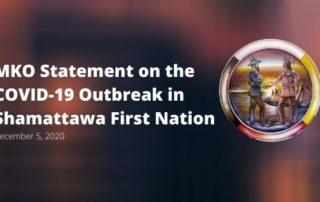 MKO statement on the COVID-19 outbreak in Shamattawa