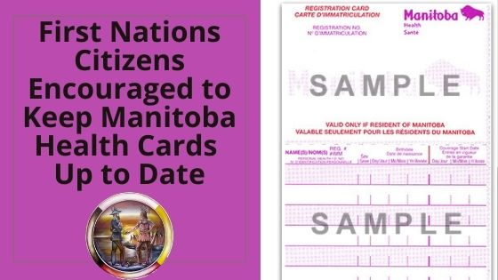 FN citizens encouraged to keep MB health cards up to date