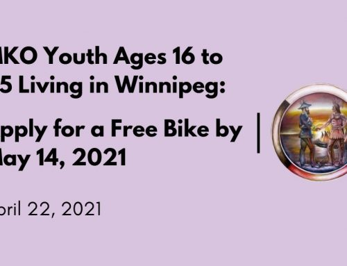 MKO Youth Ages 16 to 25 Living in Winnipeg: Apply for a Free Bike by May 14, 2021