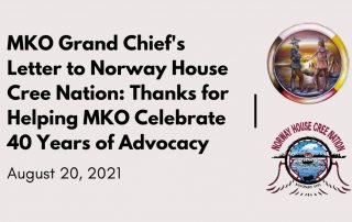 MKO thanks Norway House