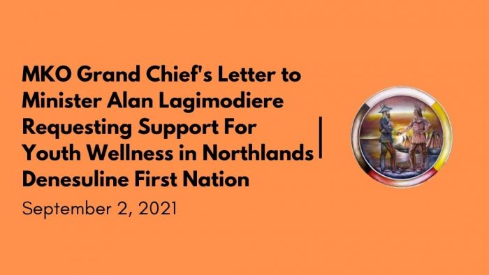 GC letter to Alan Lagimodiere