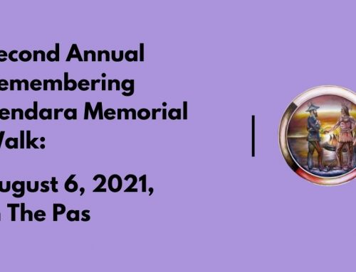Second Annual Remembering Kendara Memorial Walk: August 6, 2021, in The Pas