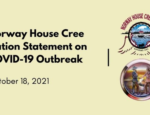Norway House Cree Nation Statement on COVID-19 Outbreak