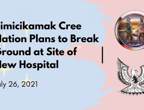 Pimicikamak Cree Nation Plans to Break Ground at Site of New Hospital