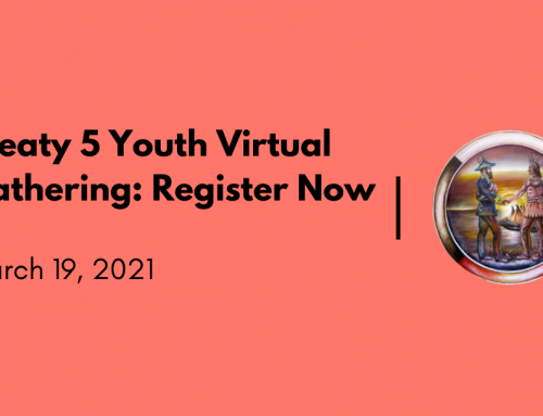 Treaty 5 Youth Virtual Gathering: Register Now