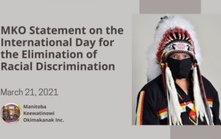 MKO statement on racism